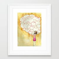 teacher Framed Art Prints featuring Teacher by jackie morrow