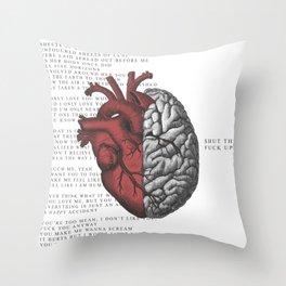 SHUT THE F*CK UP! Throw Pillow