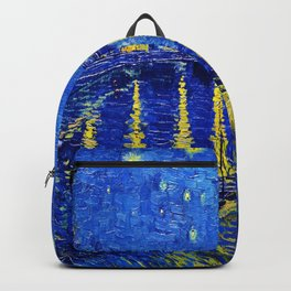 Starry Night Over Rhone Backpack