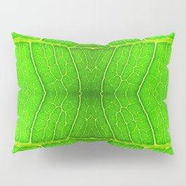 Macro Leaf no 6 Pillow Sham
