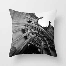 St Vitus Cathedral Throw Pillow