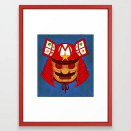 The Defender of the Mushroom Dynasty Framed Art Print