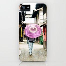 Geisha in Japan. Kyoto iPhone Case