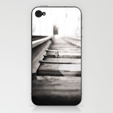 railroad flower  iPhone & iPod Skin