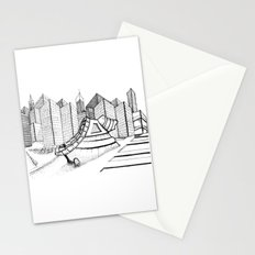 fantastic house Stationery Cards
