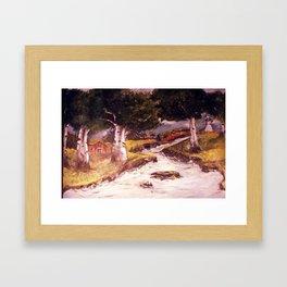 River Flow Framed Art Print