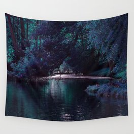 Mystical Lake Wall Tapestry
