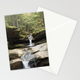 waterfall in NH Stationery Cards