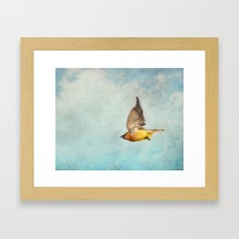 Winter Flight Framed Art Print