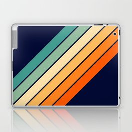 Farida - 70s Vintage Style Retro Stripes Laptop & iPad Skin