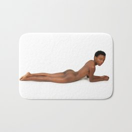 Petite Nude Woman 8 Bath Mat