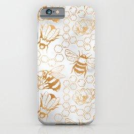 #savethebees #please iPhone Case