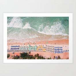 Brazil Beach Art Print