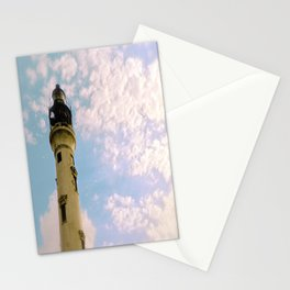 Cloudy at the Lighthouse Stationery Cards