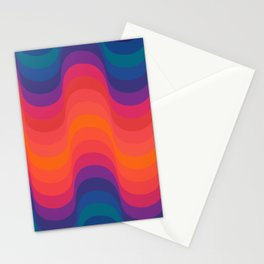 Retro Sacred Geometry Stationery Cards