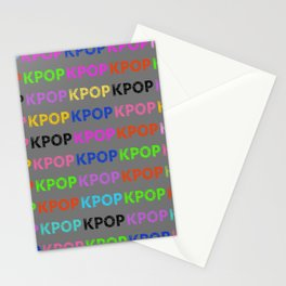 KPOP Sketch Stationery Cards