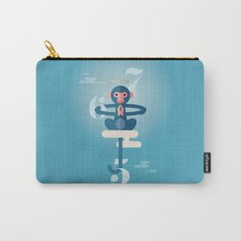 Monkey Gone to Heaven Carry-All Pouch