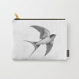 Barn Swallow - mono Carry-All Pouch
