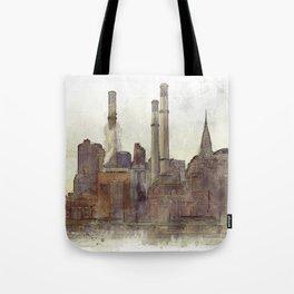 Manhatten Heating Station - SKETCH Tote Bag