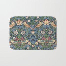 Strawberry Thief - Vintage William Morris Bird Pattern Bath Mat