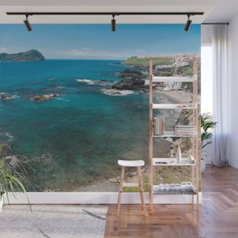Small bay and islet Wall Mural