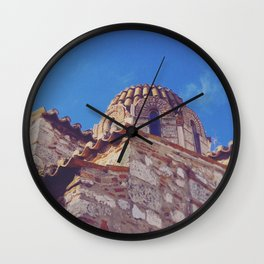 Medieval Stones Wall Clock