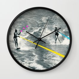 Competitive Strategy Wall Clock