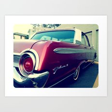 Ass-End of the Galaxie Art Print