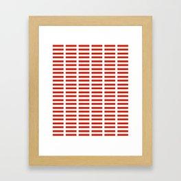 flag of austria 2 -,Österreich,Austrian,Österreicher,Vienna,Salzburg,Mozart, Schoenberg Framed Art Print