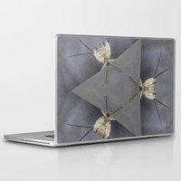 bugs Laptop & iPad Skins featuring Alien Bugs by Deborah Janke