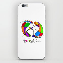 Trapsanella - be colourful iPhone Skin