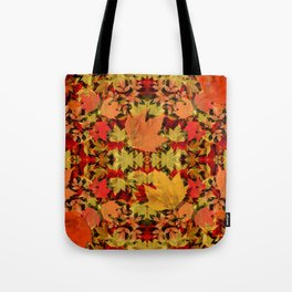 Leaves all Around Tote Bag