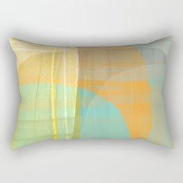 Lined Rocks #2 Rectangular Pillow