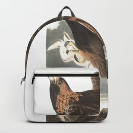 Golden eagle, Birds of America, Audubon Plate 181 Backpack