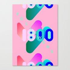 1800 Canvas Print