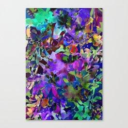 Poppy Batik Canvas Print
