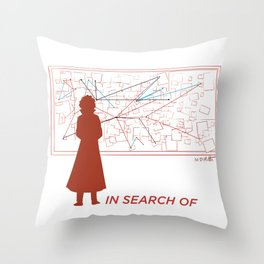 TBS Search Party:  In Search Of Throw Pillow