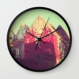 Vintage Style Photo Wall Clock