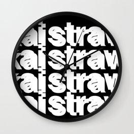 Hella Wall Clock