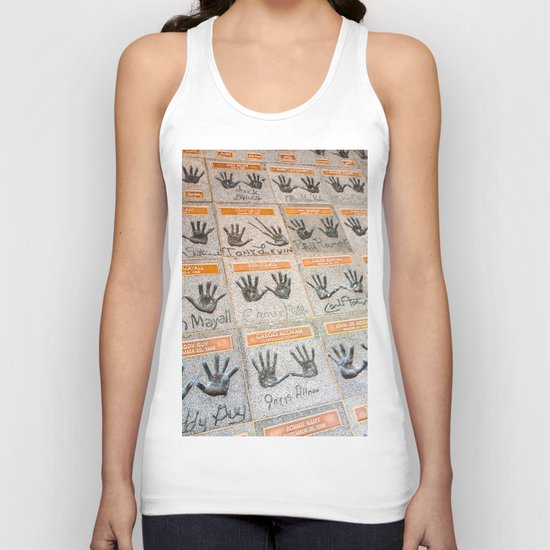 Hollywood hands Unisex Tank Top