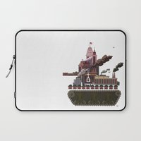 military Laptop Sleeves featuring Military-Industrial Complex by James Tuer