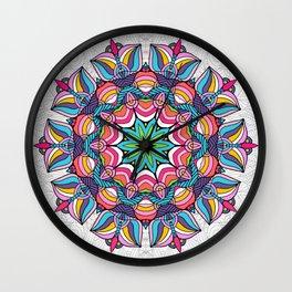Art Love Passion - Mandala Wall Clock