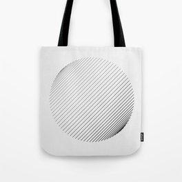 #571 line(trigonometric) Tote Bag