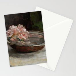 Still Life, 1886 by Abbott Handerson Thayer Stationery Cards