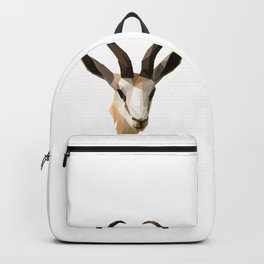 Low Poly Antelope Backpack