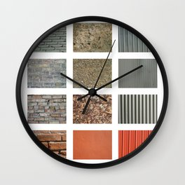 Beginning Site Analysis Wall Clock