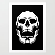 Grim Geometry Art Print
