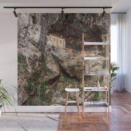 The Holy Cave of Covadonga Wall Mural