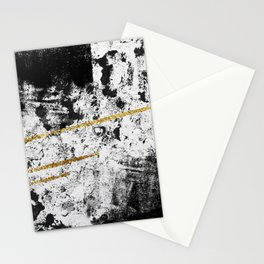 Gilded Grit Light Stationery Cards