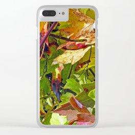 Vine Unbound 5 Clear iPhone Case
